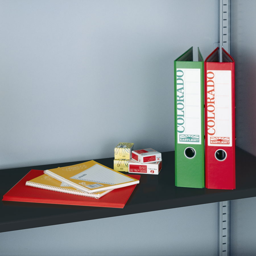 Picture of Extra shelf for steel storage cupboards - black