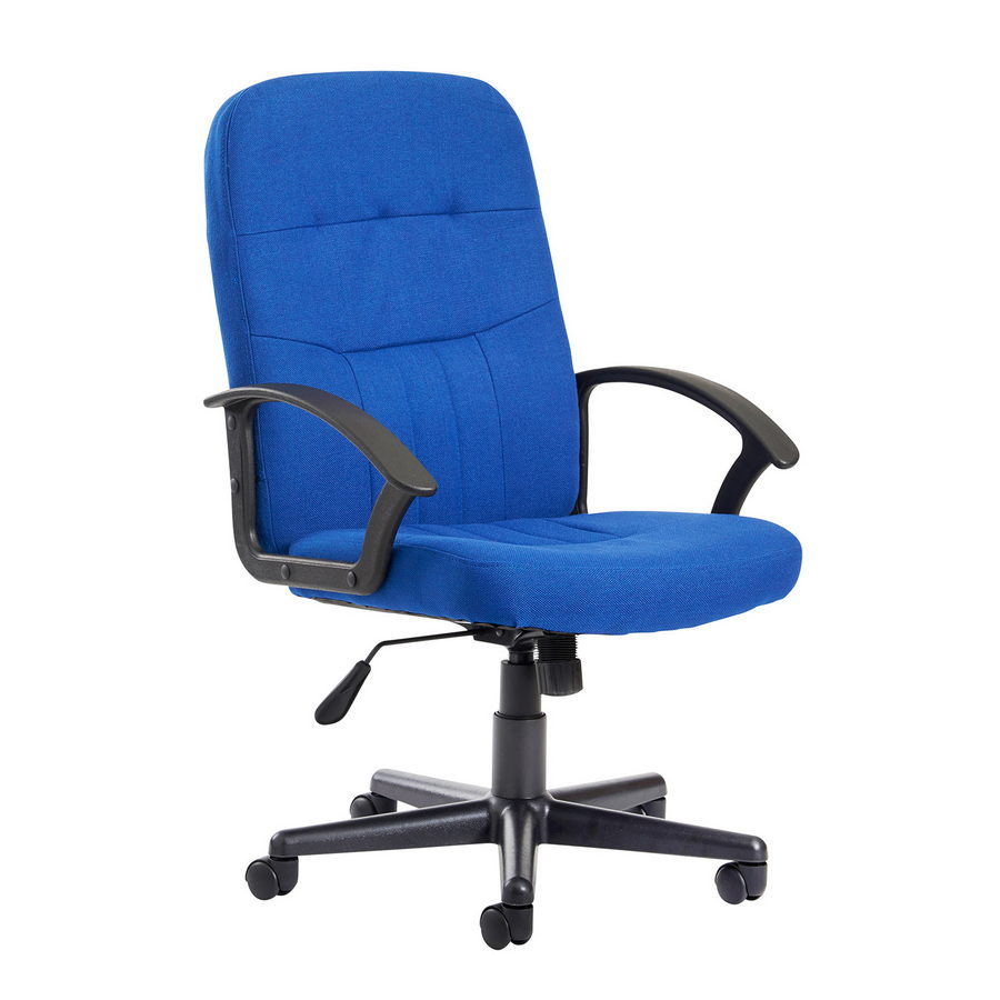 Picture of Cavalier fabric managers chair - blue