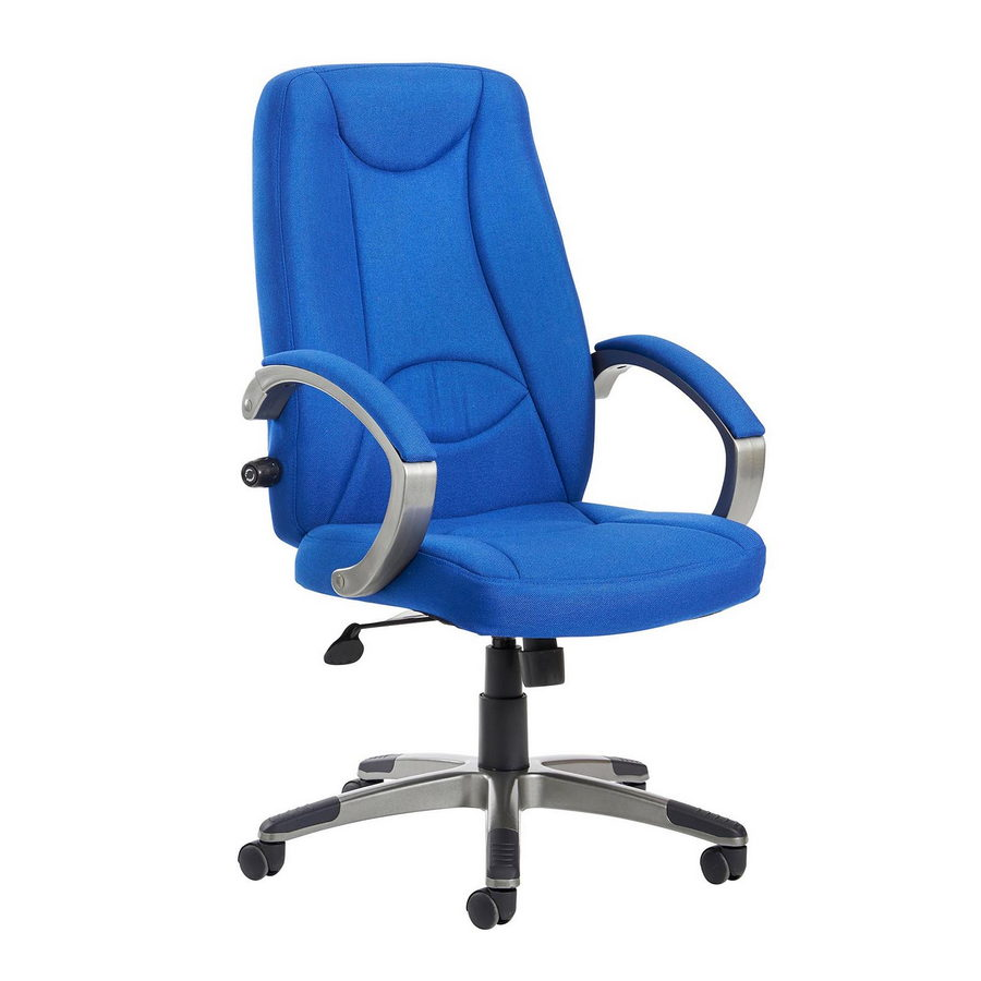 Picture of Lucca high back fabric managers chair - blue