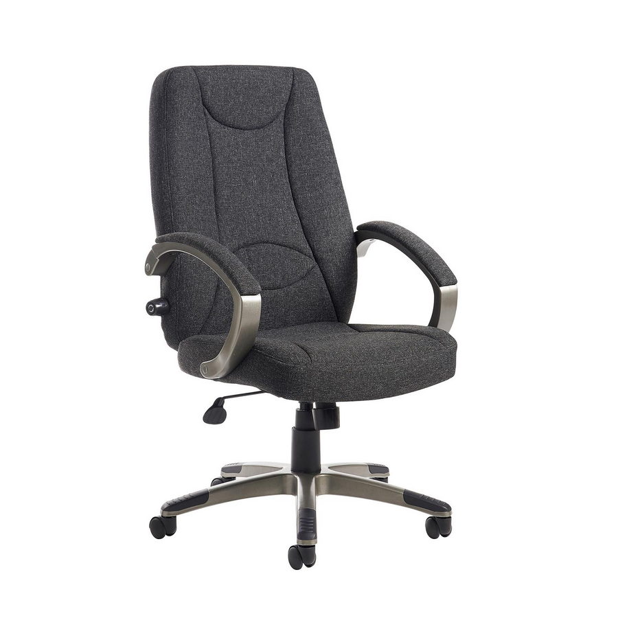 Picture of Lucca high back fabric managers chair - charcoal
