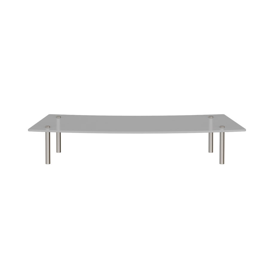 Picture of Denver reception glass shelf 800mm curved
