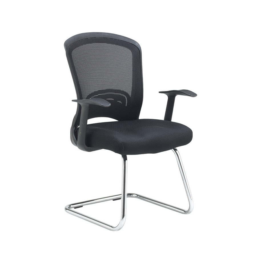 Picture of Solaris mesh visitors chair - black